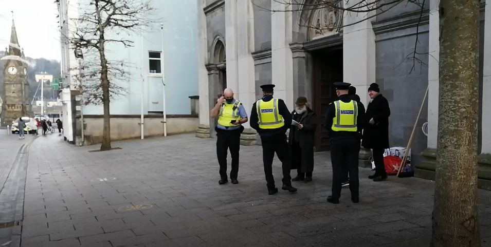 WATCH: Three Mass-goers arrested outside Waterford cathedral