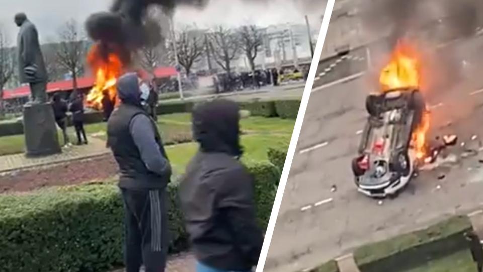 """We're Headed For Civil War"": Dutch mayor on nationwide anti-lockdown riots"
