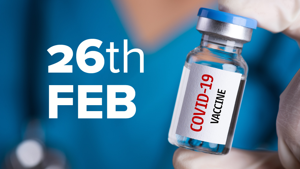 Vaccine Update: 12,776 vaccinated on Tuesday