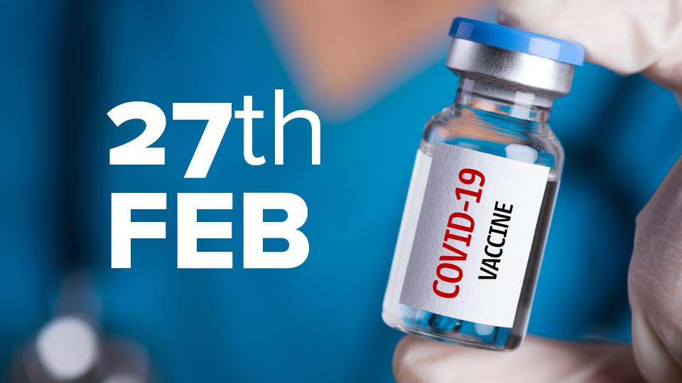 Vaccine Update: 17,182 vaccinated on Wednesday