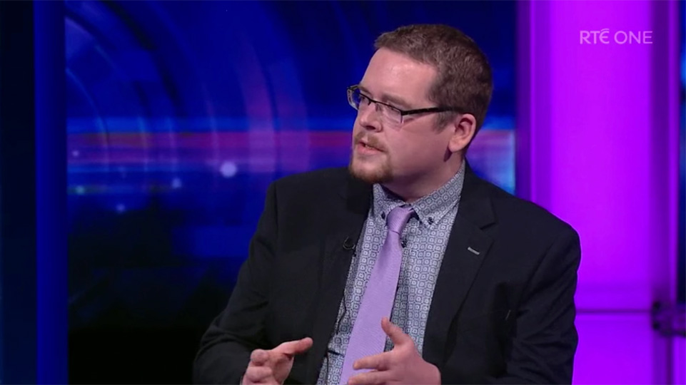 John McGuirk on Prime Time: People have a right to protest and be angry at Government's mishandlingof Covid