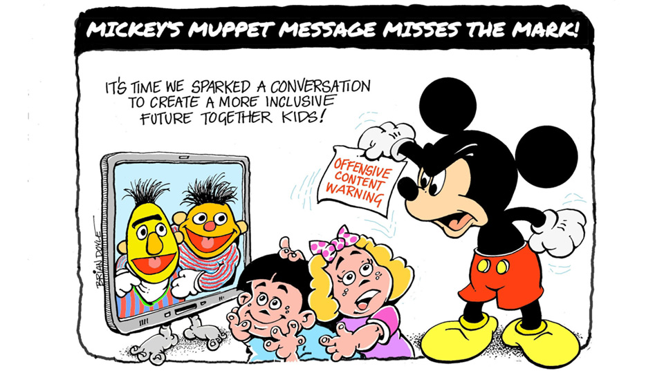 Disney's bosses are a bunch of Muppets promoting 'critical race theory'