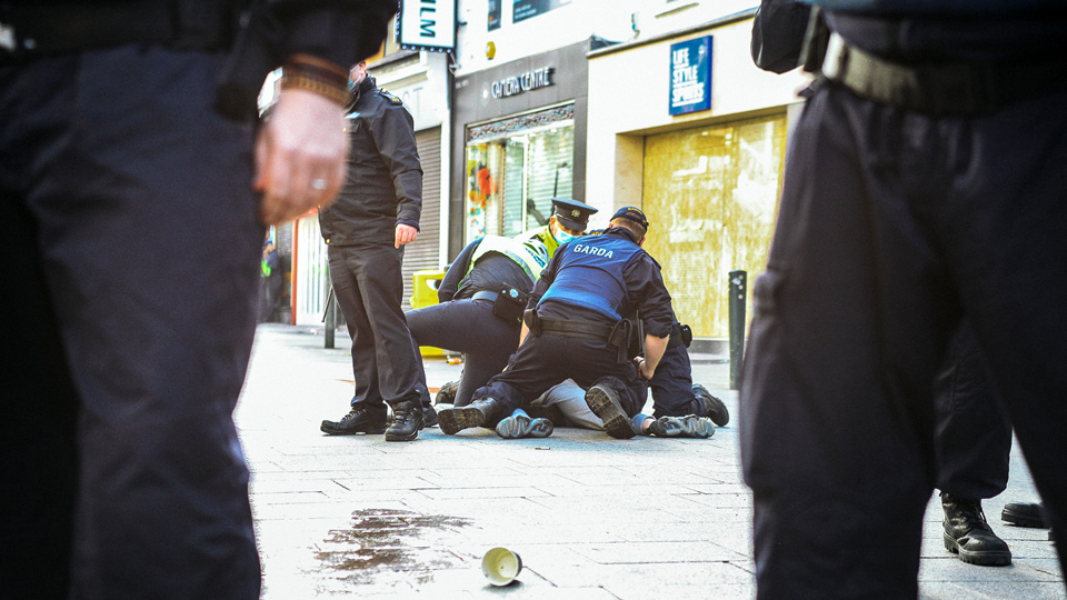 Are the Gardai….. just making the laws up?