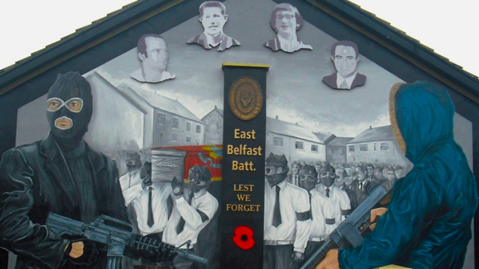 Loyalist paramilitaries withdraw support for the Good Friday Agreement