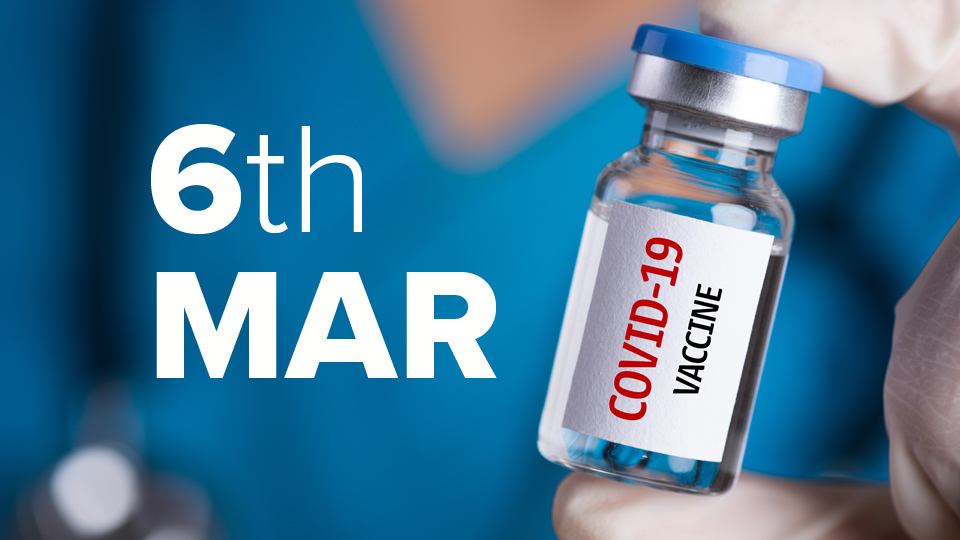 Vaccine Update: Vaccination rate slower this week than last two weeks