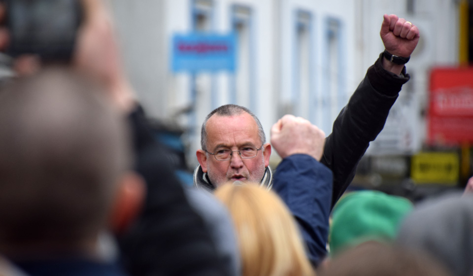 PHOTOS: Anti-lockdown assembly : Cork : 6 March 2021