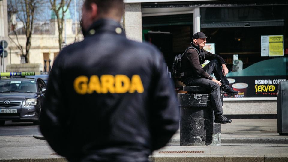 PHOTOS: Dublin city centre locked down on Easter Sunday