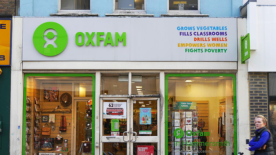 """Oxfam LGBT paper blames """"privileged white women"""" for male sexual violence"""