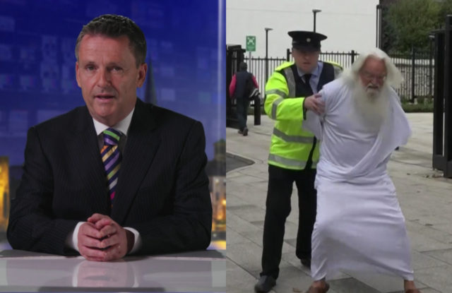 """EXCLUSIVE: BAI upholds complaint against RTÉ's """"rapist god"""" sketch"""