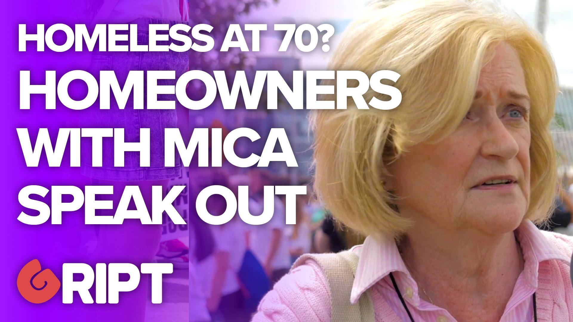 """""""I'm facing homelesness at 70"""" – Mica protesters speak out"""