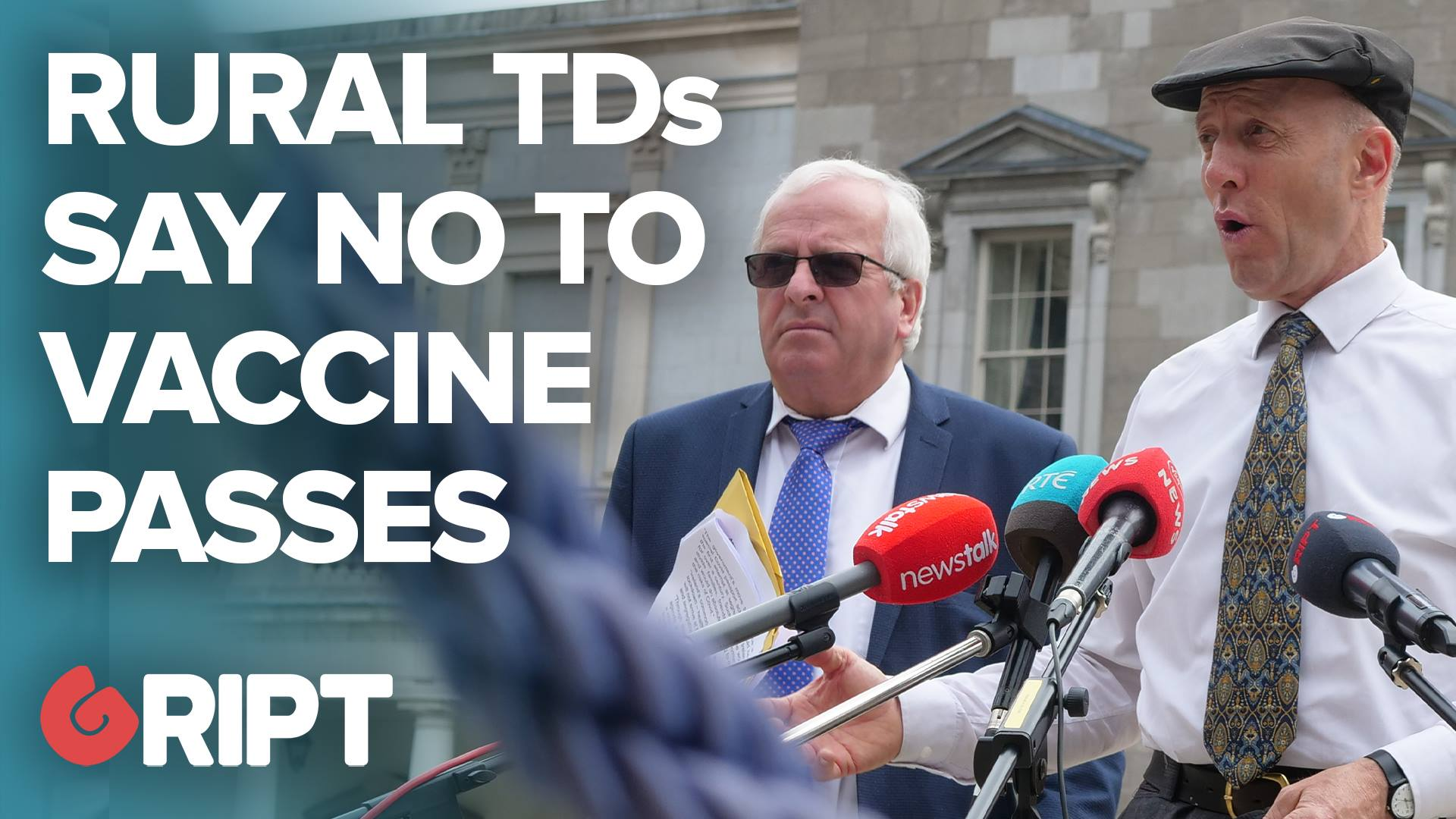 """""""STAND UP FOR THE MINORTIY"""": Rural Independent TDs slam vaccine passports"""